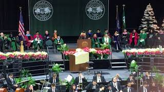 MSU Commencement speaker, Cindy Pasky,