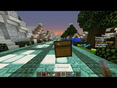 Graphical user interface(GUI) build in Vanilla Minecraft