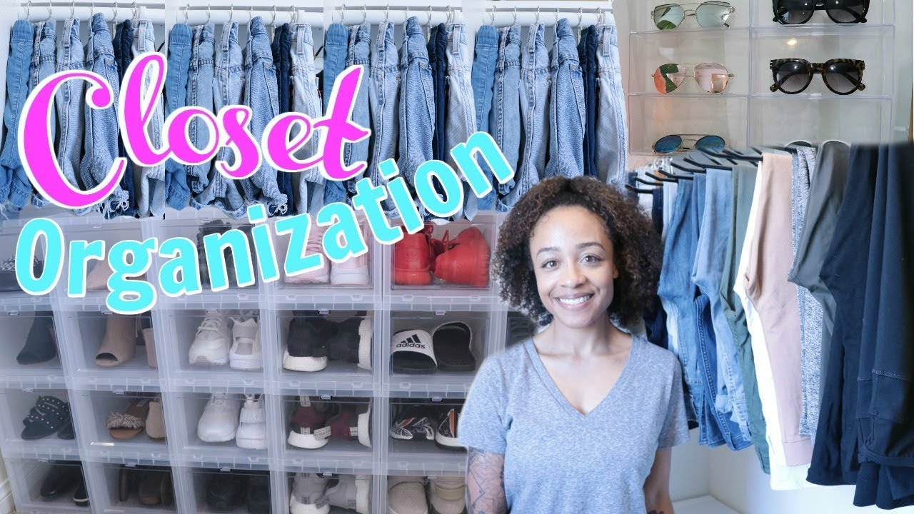 Cheap Closet Organization Ideas! $1 To Under $6  Youtube
