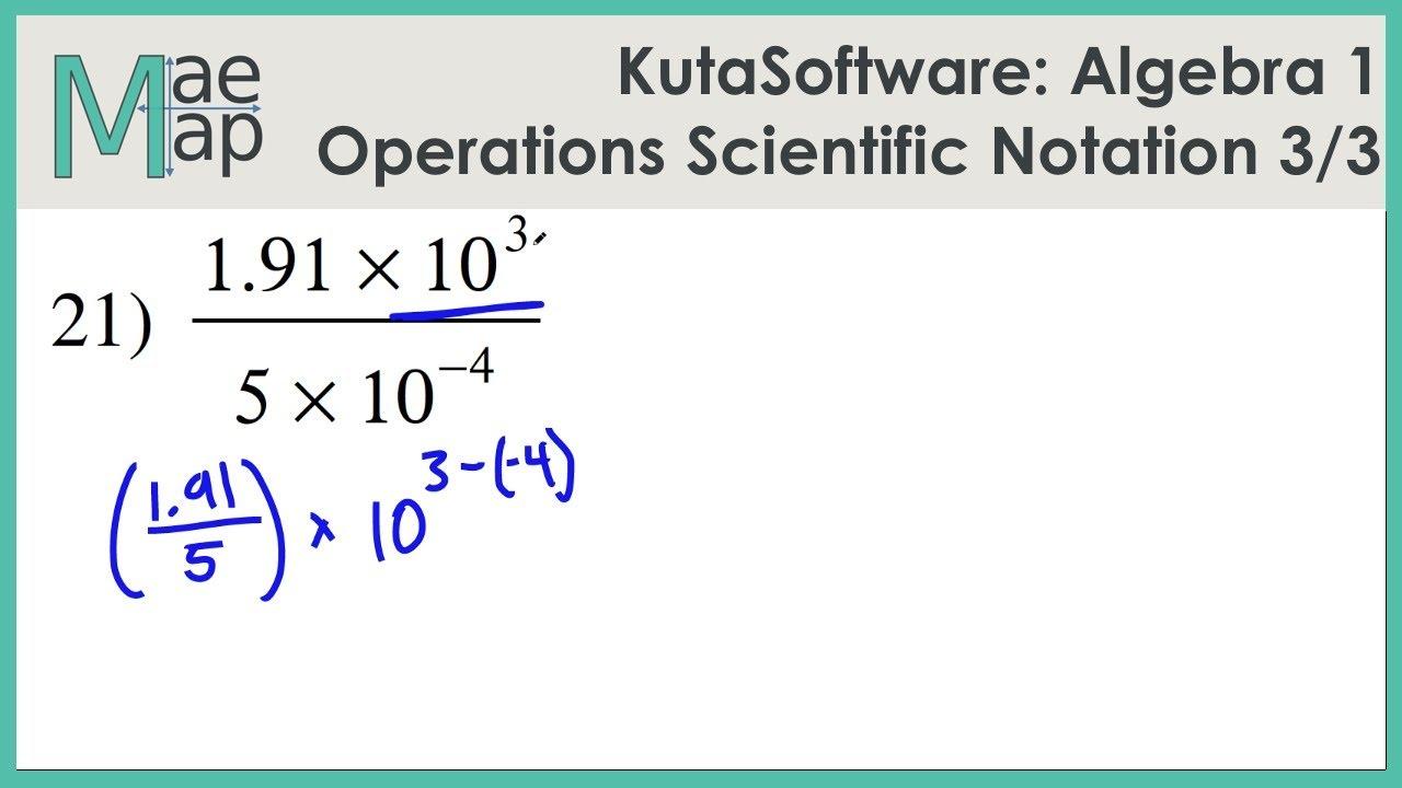 Kuta Algebra 1 Operations