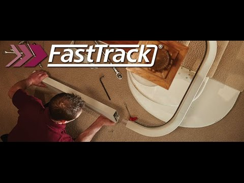FastTrack Install Demonstration - The Worlds Fastest Curved Chair Lift Install Service