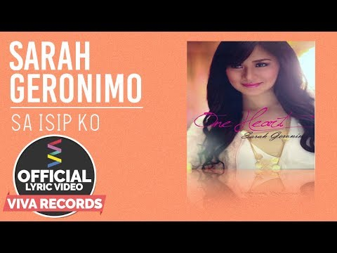 Sarah Geronimo — Sa Isip Ko [Official Lyric Video]