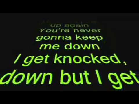 Tubthumping - I Get Knocked Down Lyrics