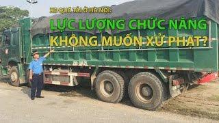 (VTC14)_ Xe quá tải ở Hà Nội: Lực lượng chức năng không muốn xử phạt?
