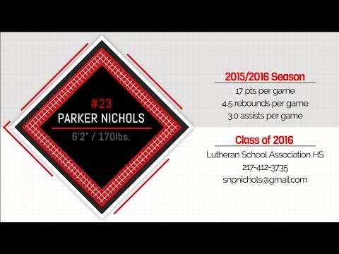 Parker Nichols Basketball Video
