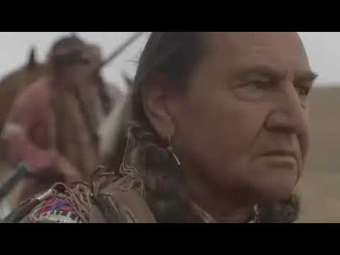 White Man Has Talk With Indian About Disposition of Native Land