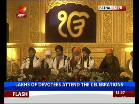 PM attends 350th Prakash Parv of Guru Gobind Singh in Patna