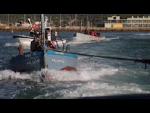 Traditional Fishing Method Practised Off Southern Spain