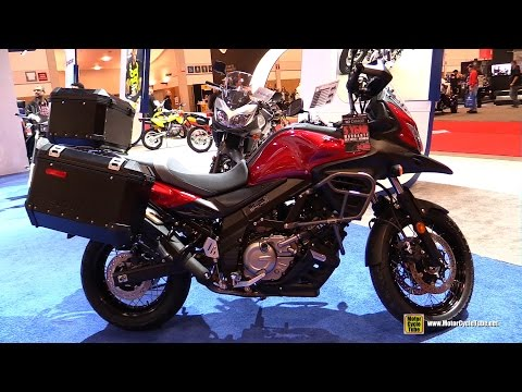 2016 Suzuki V-Strom 650 XA ABS - Walkaround - 2016 Toronto Motorcycle Show