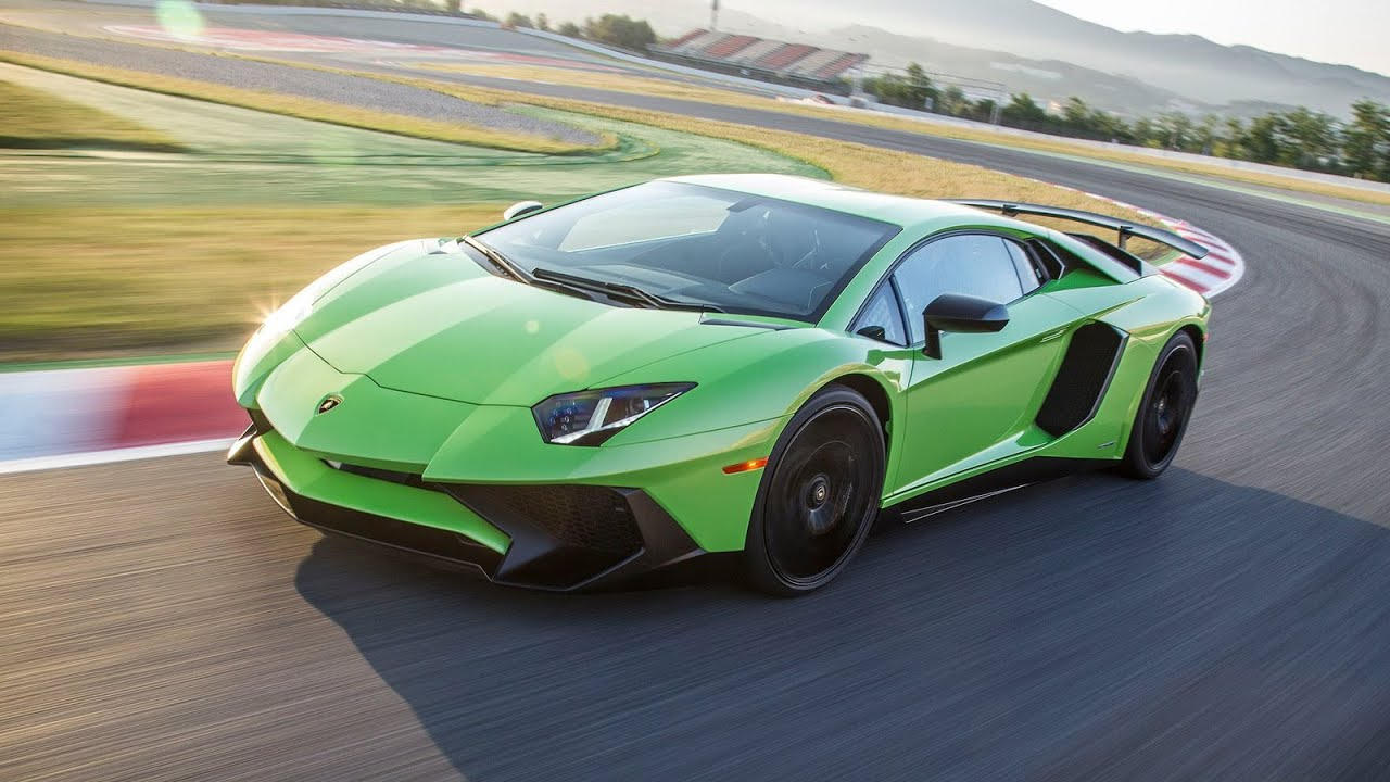2016 Lamborghini Aventador Lp750 4 Sv Green Youtube