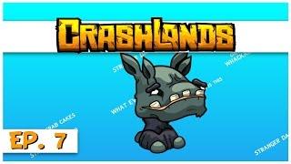 Crashlands - Ep. 7 - Embiggened Wompit! - Let's Play Crashlands Gameplay