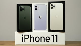 Unboxing iPhone 11 Pro Max + Watch
