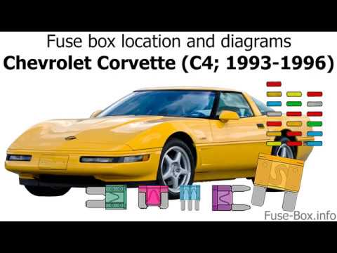 Fuse box location and diagrams: Chevrolet Corvette (C4; 1993-1996) - YouTubeYouTube