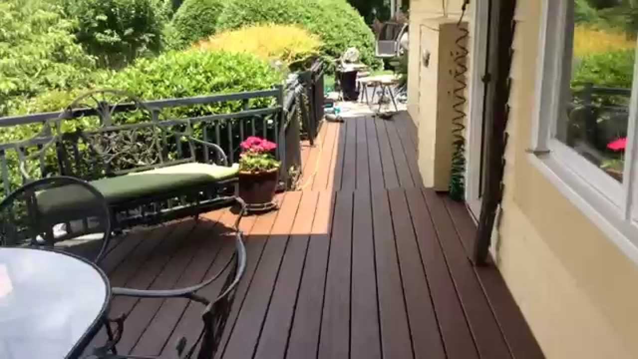 Etonnant Deck In Olympic Russet Stain   YouTube
