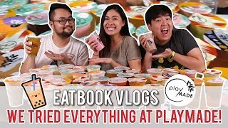 We Tried Everything at Playmade Bubble Tea   Eatbook Tries Everything   EP 1
