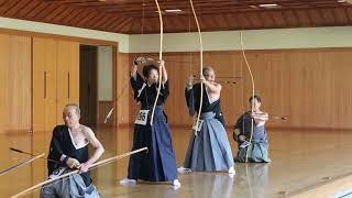 範士の奉射1 2018.11. 3 明治神宮奉納全国弓道大会