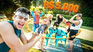 Dança Das Cadeiras Insano! *Valendo $5000* ‹ Jonvlogs ›