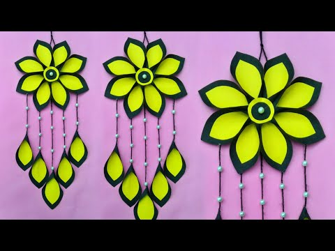 DIY Wall decor // Wall hanging craft ideas with paper // Room decoration ideas