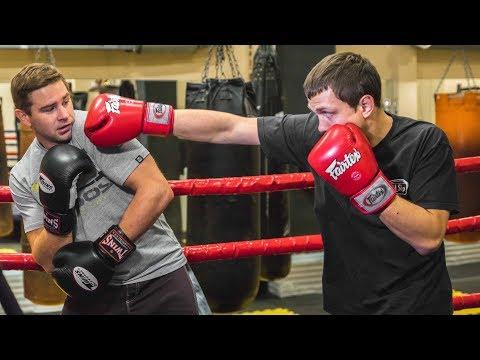 Защита в боксе видео уроки