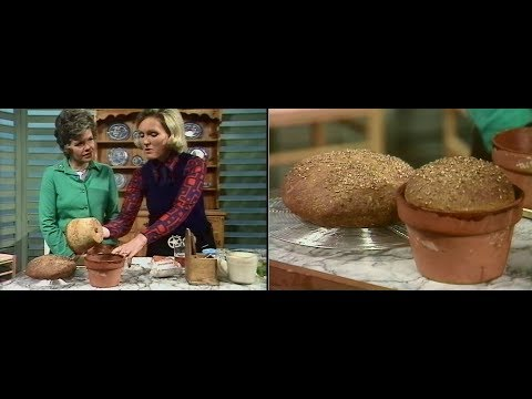 Mary Berry | How to bake bread | Good Afternoon | 1974