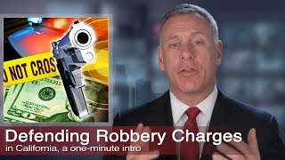 Los Angeles Robbery Crimes Criminal Defense, Kraut Law Group
