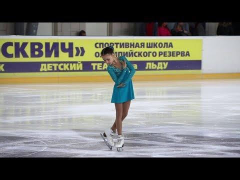 Елизавета Куликова, ПП (Elizaveta Kulikova, FS), младшие, Первенство Москвы младшего возраста 2019