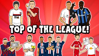 Top of the League Barca - Liverpool - Inter - PSG - Leipzig