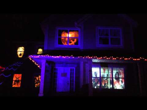 AtmosFearFX Zombie Invasion - Trick or Treaters Were Afraid to Knock on my Door!