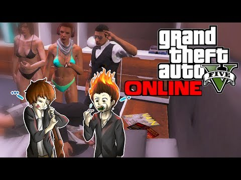 Apartment Party & Flying Fun! - GTA 5 Online