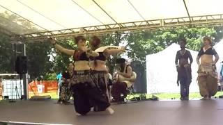 Sacred Shimmy Bellydance - Sword Dance at Comfest 2017