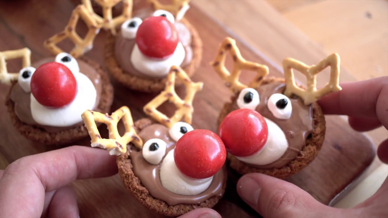 How To Make Reindeer Tarts