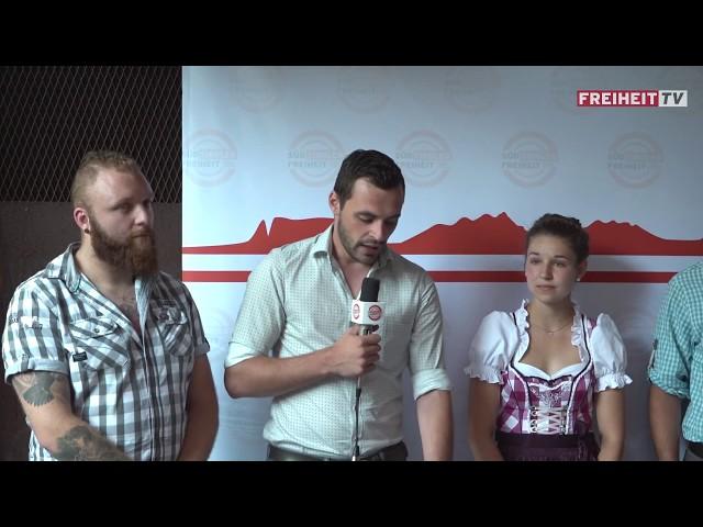 Pressekonferenz: Unsere Jugend für die Landtagswahl 2018