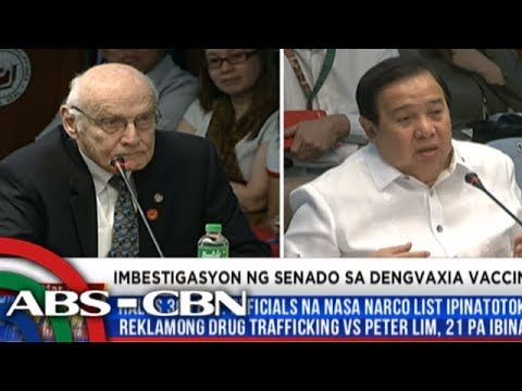 WATCH: Senate panel investigates Dengvaxia controversy | 13 March 2018
