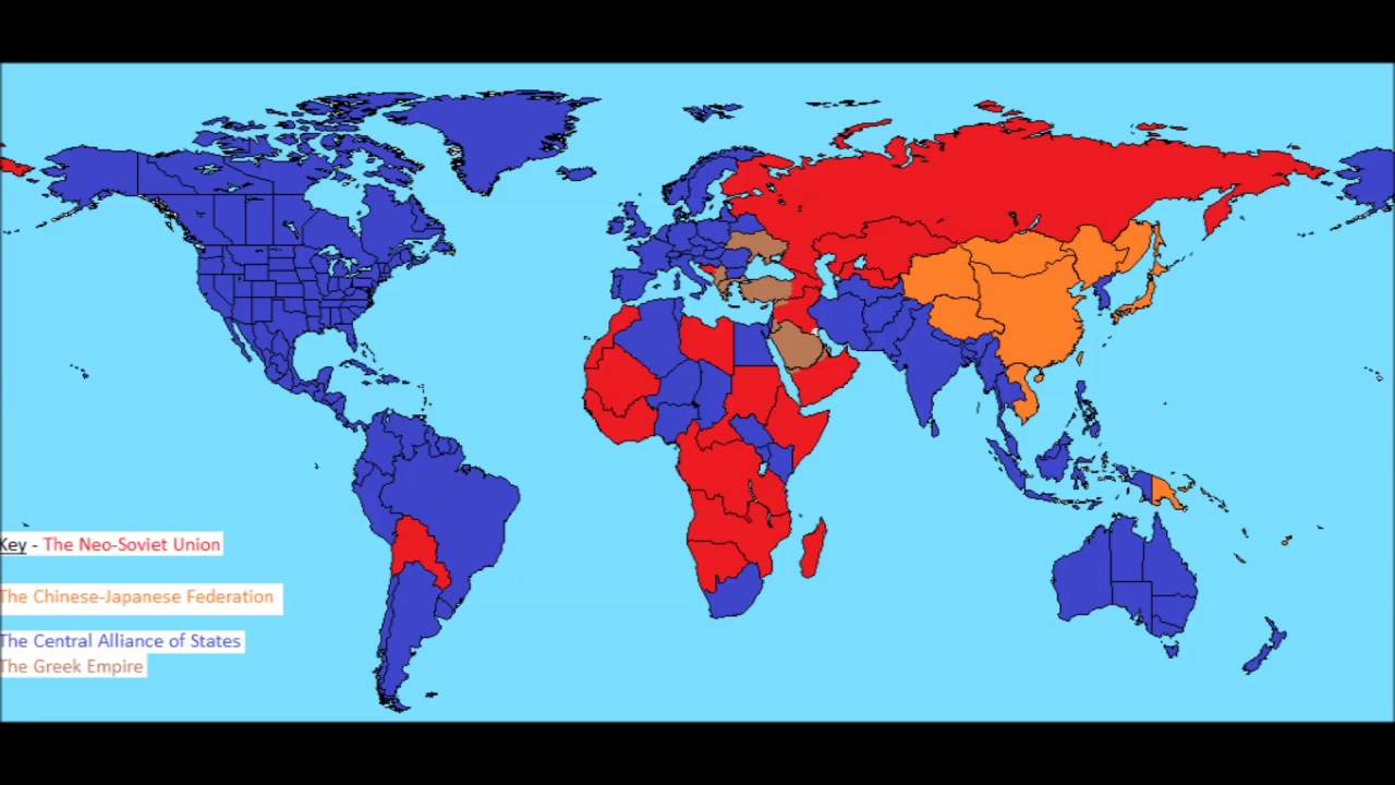 Alternate History World Map #1 | Map Sequence - YouTube