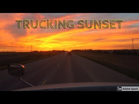 TJV Mon - TRUCKING SUNSET - #1229