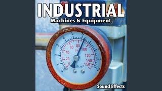 Industrial Pump Motor Running