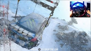 FH3 GoPro BLIZZARD MOUNTAIN LP Ep1 - Dropping From a Helicopter!