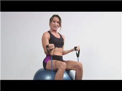 Fitness Exercises : Thera-Band Exercise Ball Exercises