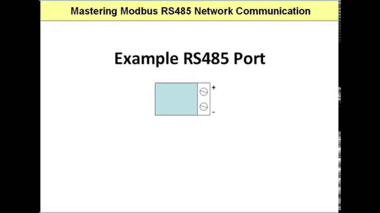 9 rules for correct cabling of the Modbus RS485