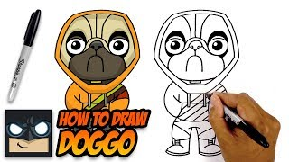 How to Draw Forтnite | Doggo | Step by Step