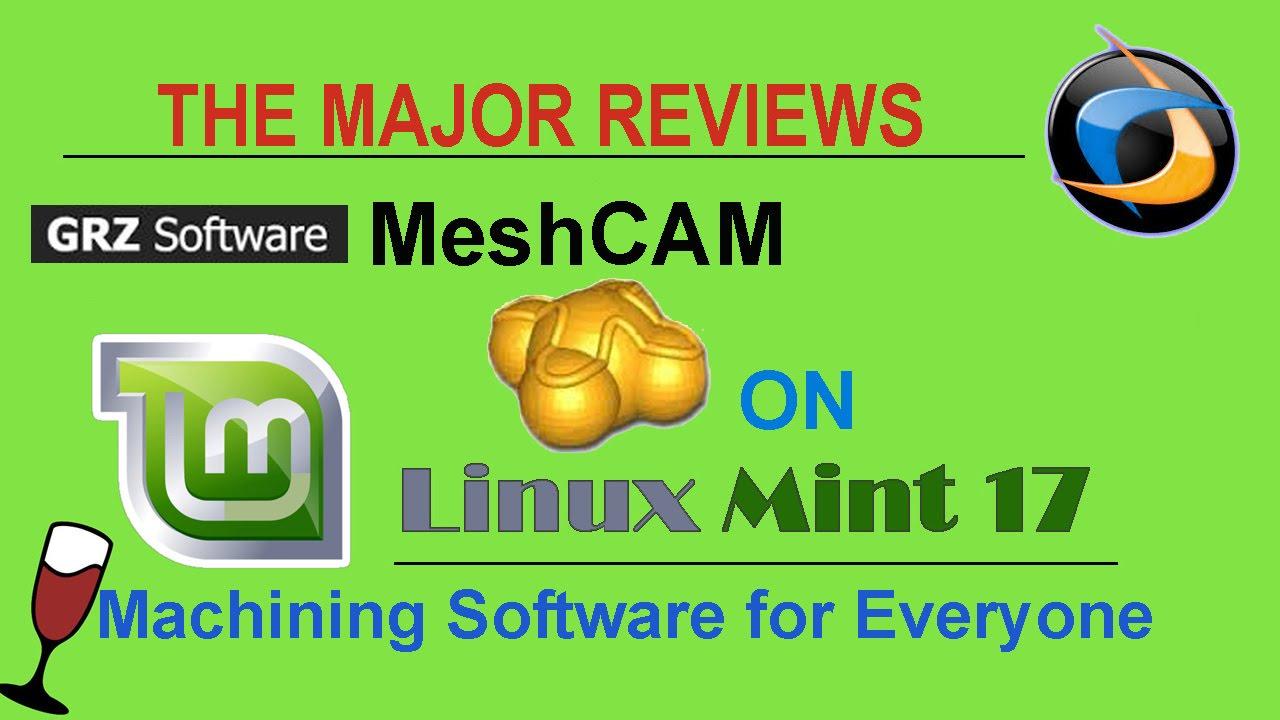 MeshCAM on Linux Mint 17