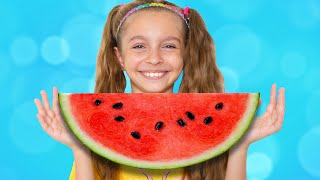Do you like watermelon corn song – Children songs by Sunny Kids Songs