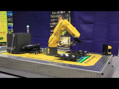 Robotic Mobile Platform with the FANUC LR Mate Series Robot - ProtoConsul