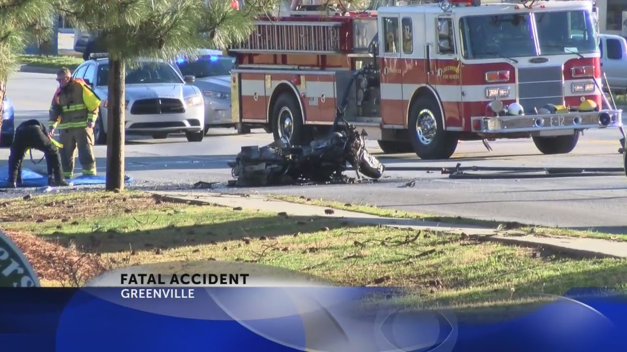 Man dead in Greenville Blvd  motorcycle accident