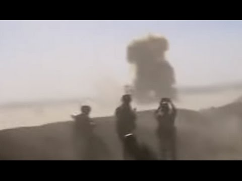 ISIS Suicide Bomber Taken Out by Missile [CAUGHT ON TAPE]