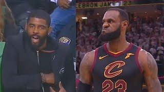How Kyrie Irving Reacted To LeBron James Forcing Game 7 vs Celtics in Game 6!