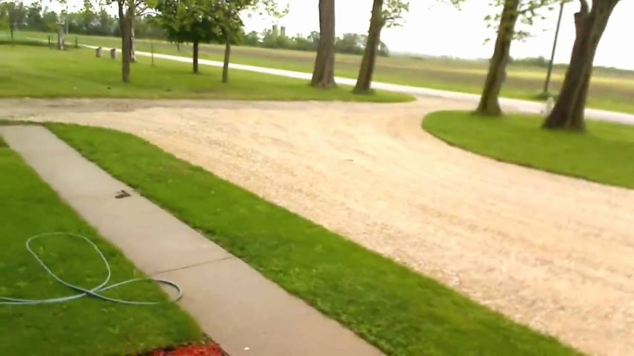 Front Driveway (FINISHED) - Gravel Circle - YouTube