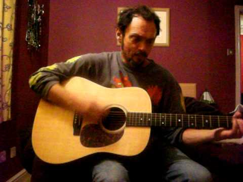 I've been everywhere Johnny Cash Cover on acoustic guitar
