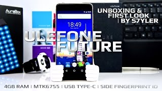 Ulefone Future (First Look & Unboxing) 4GB RAM, Side Fingerprint ID, MTK6755 // by s7yler
