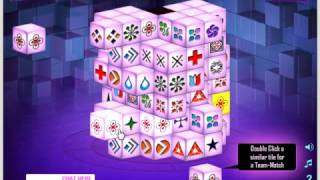 Mahjongg Parallel Dimensions online Gameplay